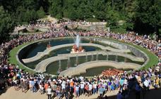 Los Palacios reales de La Granja y Riofrío recibieron 339.900 visitantes en 2017