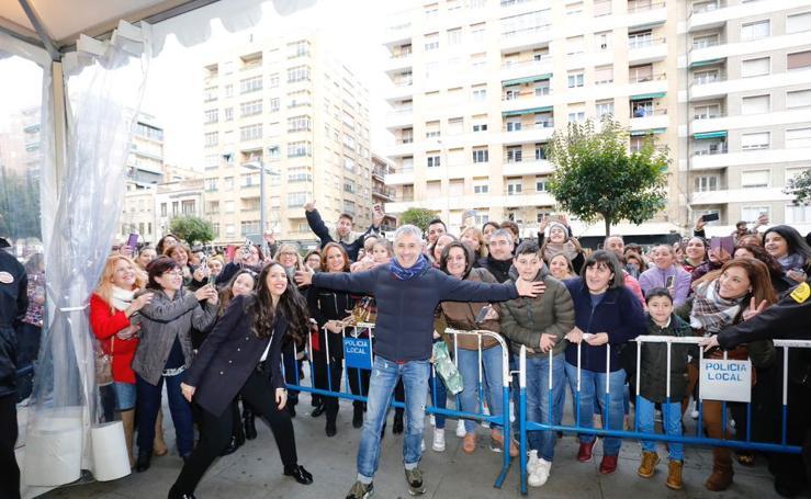 Sergio Dalma firma discos en Salamanca