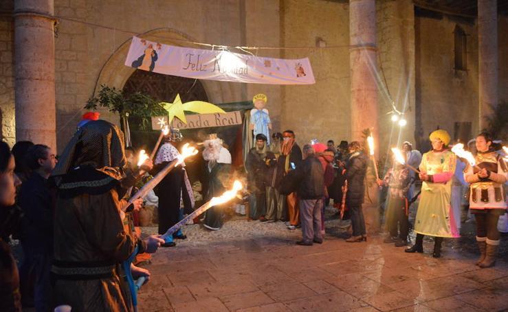 Becerril se rinde a la magia de los Reyes