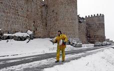 Alerta por nevadas en Castilla y León todo el fin de semana de Reyes