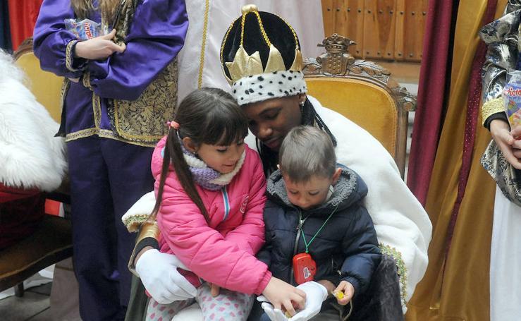Los Reyes Magos en el Ayuntamiento de Medina