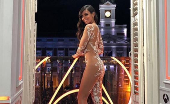 Cristina Pedroche y su vestido sorprenden a la prensa extranjera