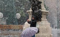 Hasta Valladolid y provincia llega la nieve