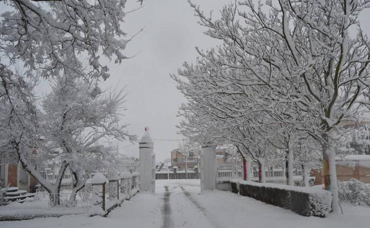 Nieve en la provincia de Salamanca