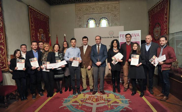 Entrega de premios del II Concurso Escaparates de Navidad Pueblos de Valladolid