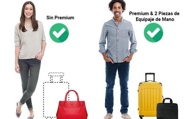a pies en guapo calidad primero Ryanair vuelve a cambiar su política de equipaje de mano ...