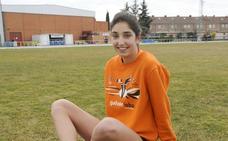 Ángela Viciosa, ganadora en el Cross Internacional de Elgoibar