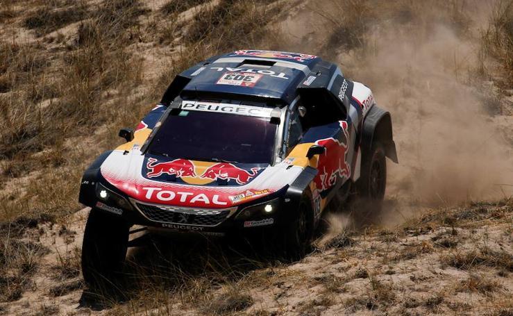 Las mejores imágenes de la décima etapa del Dakar