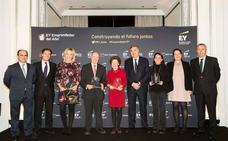 Los directivos de Gullón, finalistas al premio Emprendedor del Año de EY