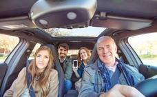 Los vallisoletanos, los segundos de la región en compartir coche para viajar