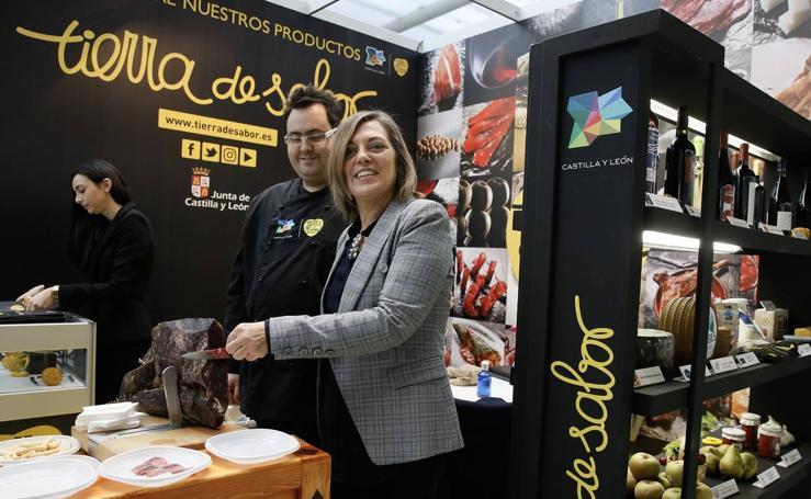 Expositor de Tierra de Sabor en Reale Seguros Madrid Fusión