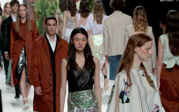 Desfile de Roberto Verino en la Madrid Fashion Week