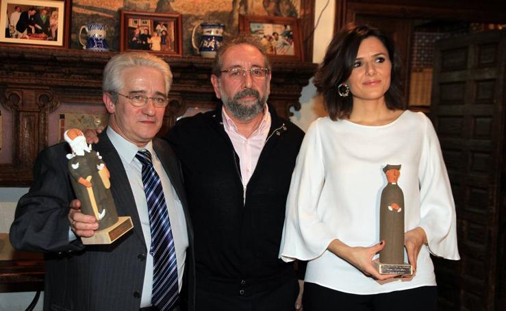 Entrega de los premios San Frutos y Dómine Cabra de la Asociación de la Prensa de Segovia