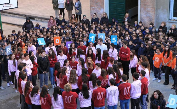 La celebración del Día de la Paz en Segovia