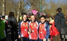 Dos medallas para el CAV en Burgos
