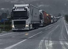 Corte total en la autovía A-67 en Cantabria