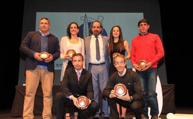 Estela García triunfa en la gala del deporte segoviano