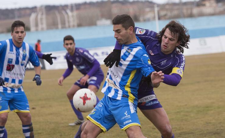 Arandina 0-1 Palencia Cristo