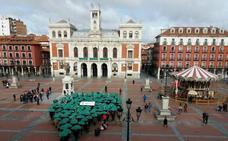 Cientos de personas tiñen de verde esperanza el Día Contra el Cáncer en Castilla y León