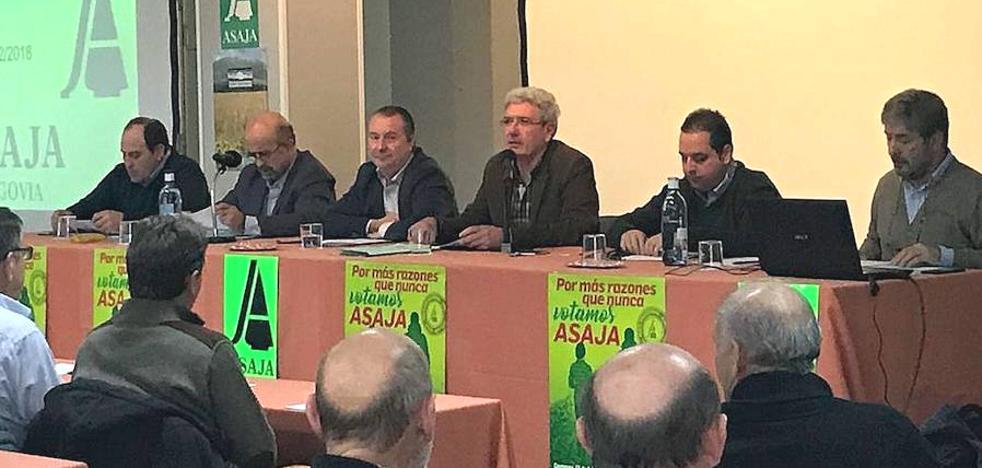 Dujo anima a los socios de Asaja a votar en las elecciones agrarias
