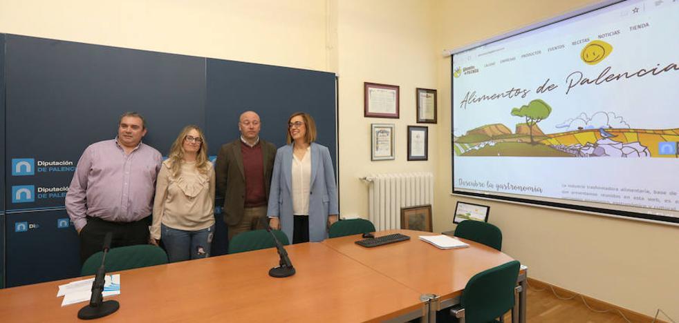 Alimentos de Palencia presenta una nueva página web más dinámica