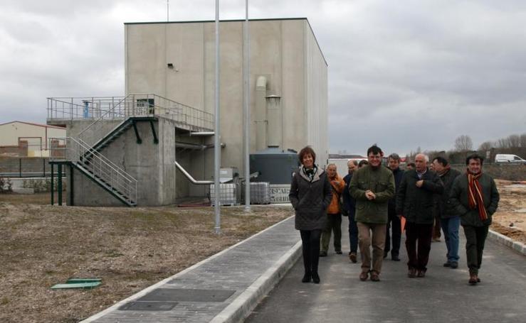 Visita a la nueva Estación Depuradora de Aguas Residuales de Cuéllar