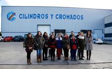 Los alumnos del IES Campos y Torozos visitan Cicrosa