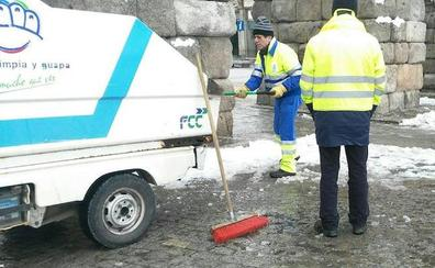El hielo suspende varias consultas médicas en la zona básica de Sepúlveda