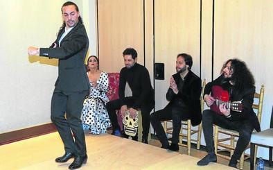 El flamenco pinta la noche segoviana