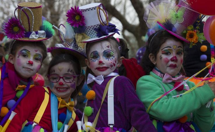 Desfile infantil en el carnaval de Toro (Zamora)