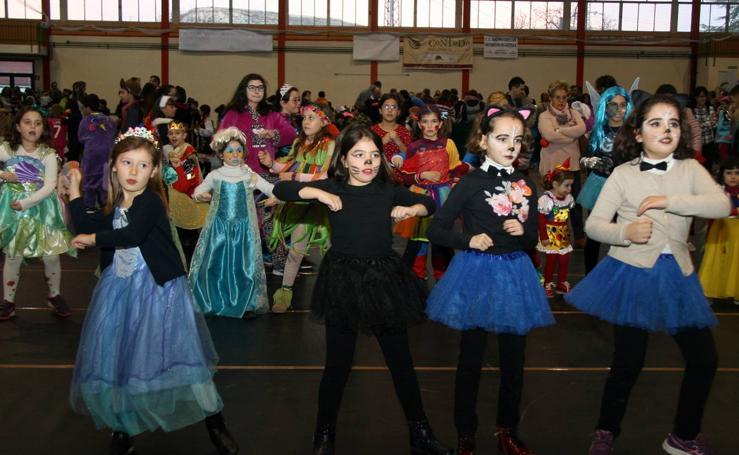 Fiesta infantil de carnaval en Cuéllar