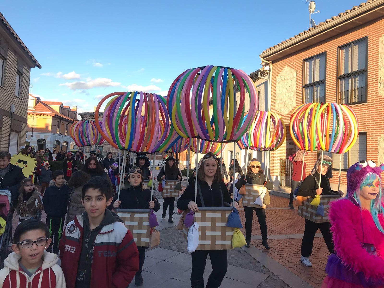 Lunes de carnaval en la provincia de Valladolid