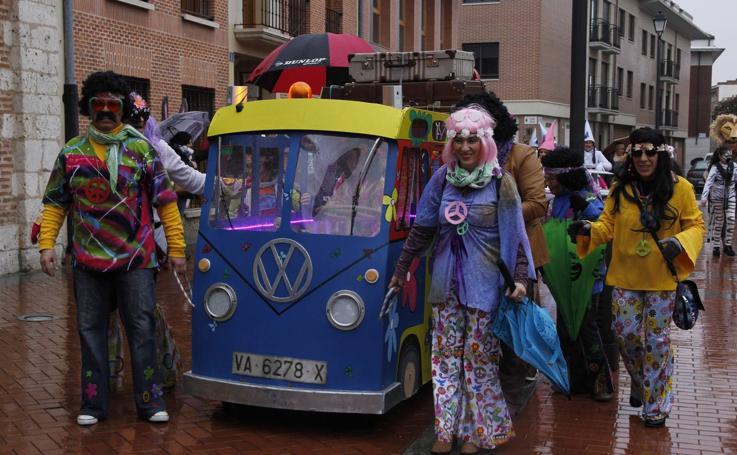 Martes de carnaval en la provincia de Valladolid
