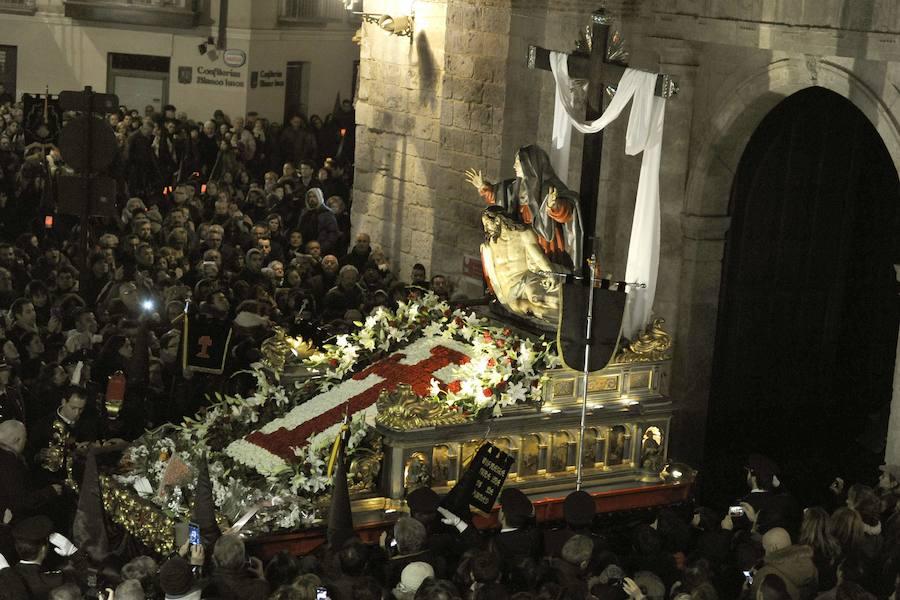 Programa de procesiones del Miércoles Santo, 17 de abril, en Valladolid