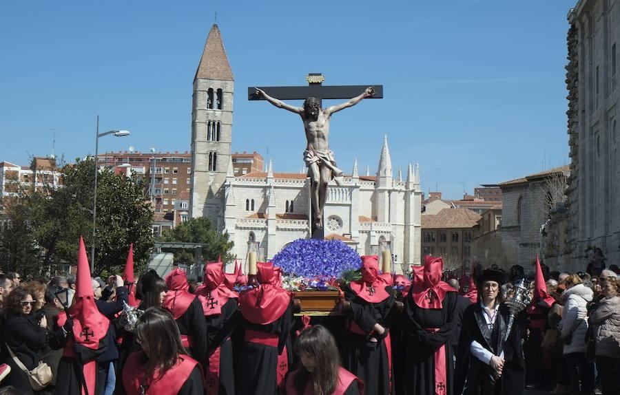 Programa de procesiones del Jueves Santo, 18 de abril, en Valladolid