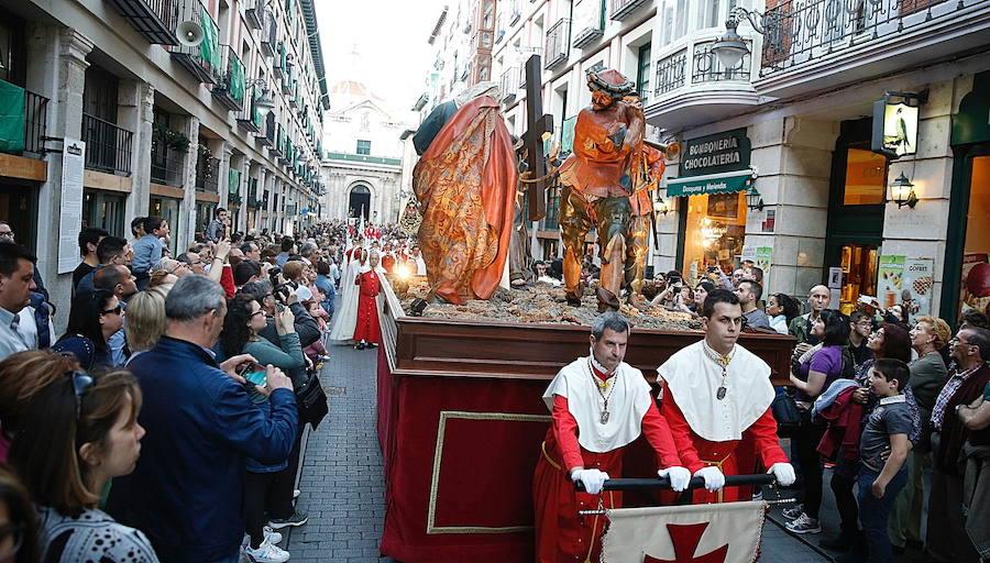 Programa de procesiones del Lunes Santo, 15 de abril, en Valladolid