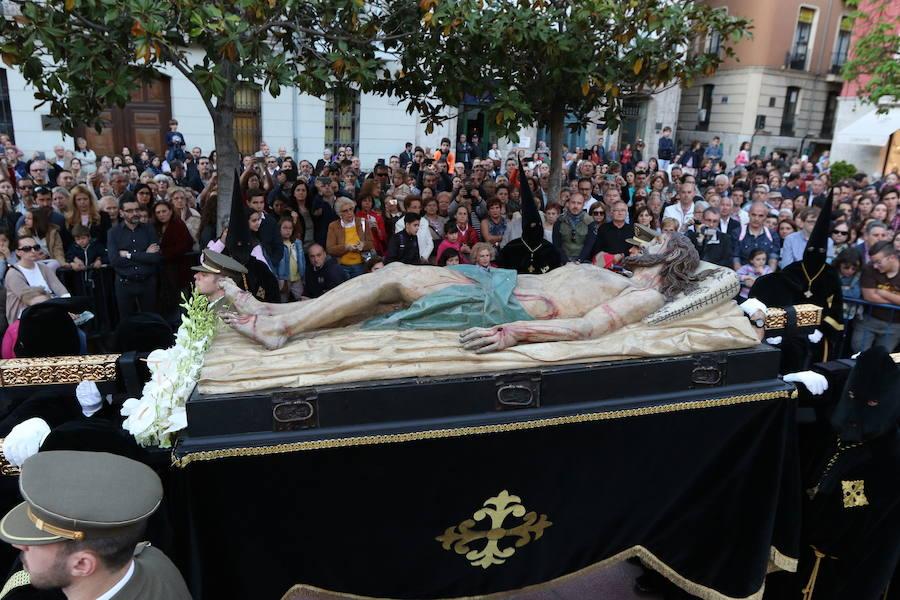 Programa de procesiones del Sábado Santo, 20 de abril, en Valladolid