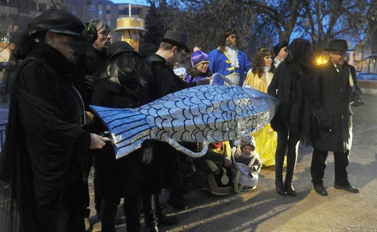 Medina del Campo entierra la sardina