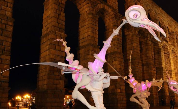 Desfile del martes de carnaval por las calles de Segovia