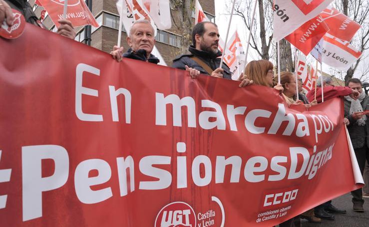 Marchas en defensa del sistema público de pensiones