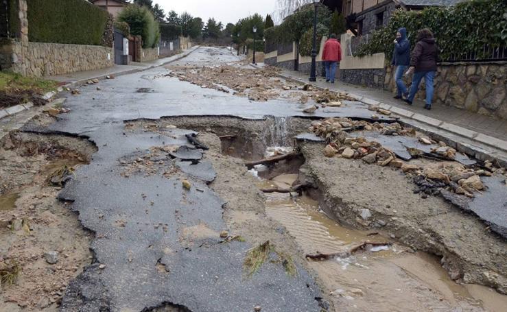 Se cumple un año de las riadas que ocasionaron grandes destrozos en El Espinar