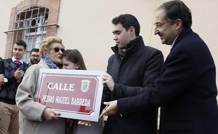 Palencia dedica una calle a Pedro Miguel Barreda