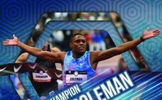 Coleman: el hombre bala que apunta a los récords de Bolt