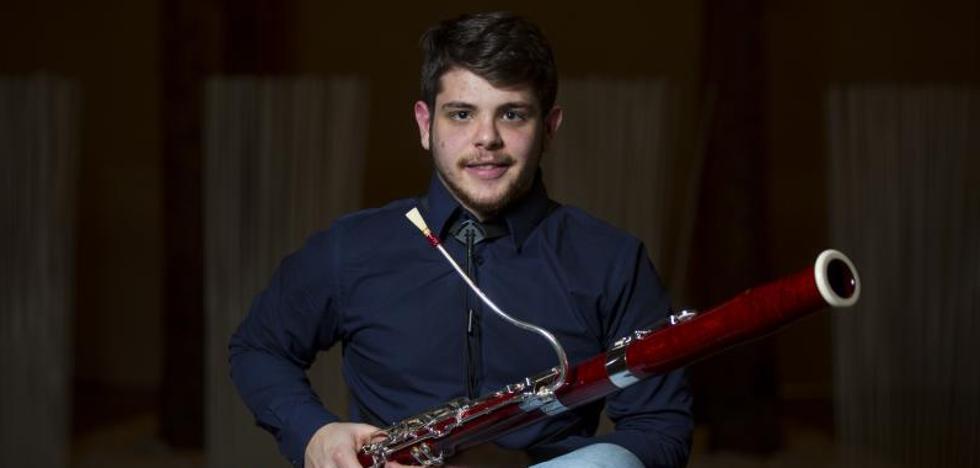 El joven fagotista de Valladolid que triunfa en TVE
