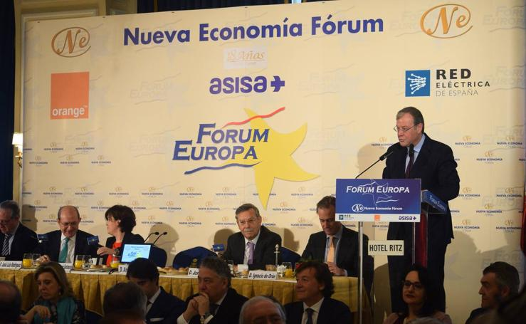 Antonio Silván participa en Nueva Economía Fórum en el Ritz de Madrid
