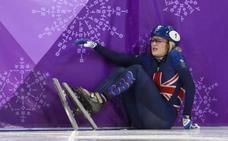 La británica Christie, la deportista «con peor suerte» de los Juegos