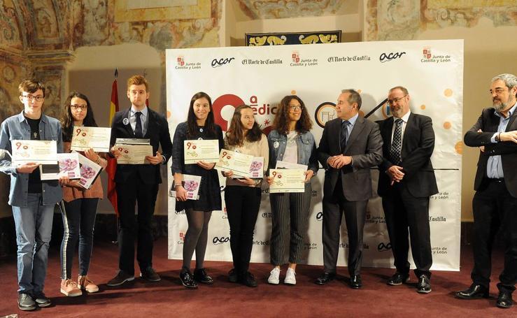 Entrega de premios de la novena edición de 'El Norte Escolar'