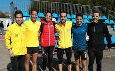 Gema Martín y Mario García, campeones de España de cross con sus clubes