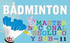 Medina del Campo albergará este fin de semana el V Master Nacional Absoluto y Sub 11 de bádminton