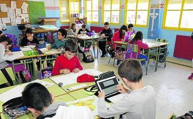 El colegio Gómez Manrique de Calabazanos, inmerso en las tecnologías